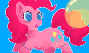 Pinkie Pie II by LaLucca