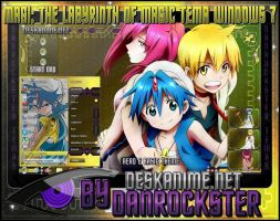 Magi Theme Windows 7 by Danrockster