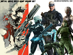Metal Gear Solid GIMP Brushes by metropolis92