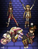 Tales Girls in a Dungeon by geekling