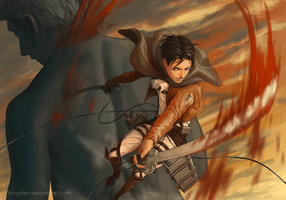 Levi by frogstarr