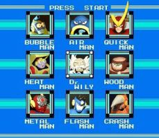 Mega Man 2 Stage Select by Awasai