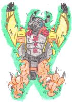 Request Wargreymon Tickle Torture Grass Attack by KnightRayjack