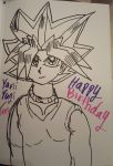 Yami Yugi/Atem's Birthday  by YamiKariShadow6