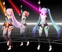 [MMD] Digital Dream by MewMewToffee