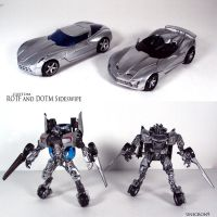 RotF and DotM Sideswipe by Unicron9