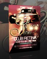 STORMY PARTY FLYER -PSD- by retinathemes