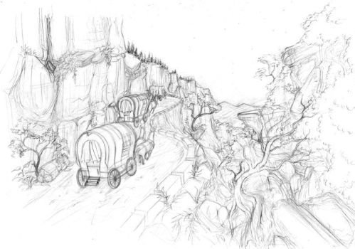 Road to Loulan by arutea
