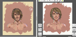 Male Study - After and Before by vssertse