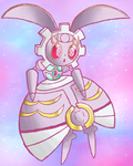 Magearna Sketch by Gallade77