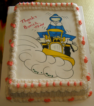 Thank You Cake by Mar-a-thon