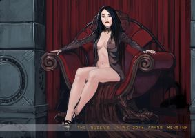 Queens Lair by FransMensinkArtist