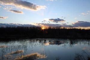 Sunset in the Slough by Kilamija