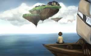 The Floating Islands : Fanart by TheChotta