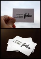 FaelDZN Business Cards by superskrull