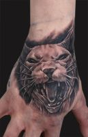 sphynx cat tattoo by bhbettie
