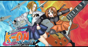 K-on - Crossover Naruto by May-Andrade