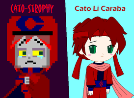 Wreck It Ralph AU - Cato-Strophy/Cato Li Caraba by dannichangirl