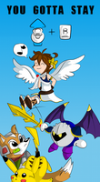 up b up b up b by Chihuahuadragon