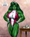"Tetsuko as ""She-Hulk"" by DavidCMatthews"