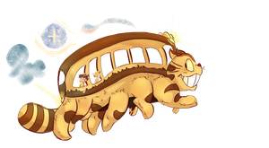 The Magical CATbus! by SKITS--O