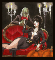 Halloween Hosts 2009 by Booter-Freak