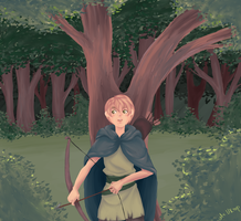 Hetalia   Deep in the forest by Lazorite