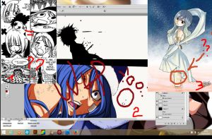 Preview colo Gruvia, Brandish=Juvia?White Tattoo?? by nina2119