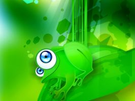 froggie wall by chicho21net