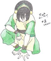 Toph Bei Fong by paperworknazi