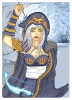 ashe the frost archer by TigerDRena