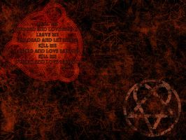 Doom 3-Heartagram WP by flarion