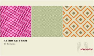 AR - Pattern Pack - Retro 01 by AngelinaResource