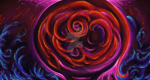 Fire Rose by Annabelle-Ailuros