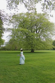 The lady in the grounds by Abigial709b