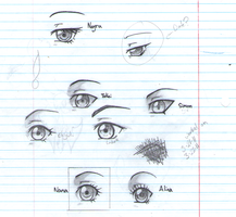 D.O.T. Eyes by i-love-chi