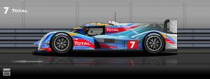 #7 - Total Peugeot 908 2012 by hanmer