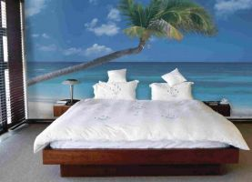 Make Your Bedroom Wall Calm With Mural Factory. by MuralsFactory
