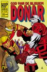 Cover HIP comics (DONAR vs DARKING) by rikvanniedek