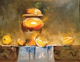 Still Life with Oranges 2013 by center555