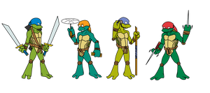 TMNT by elgesugha