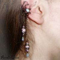 Romantic ear cuff by AmeliaLune