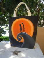 The Nightmare Before Christmas bag - Side 2 by songbirdholly