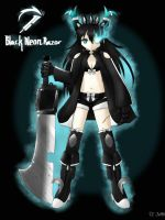 Black Neon Razor by Neon-Juma