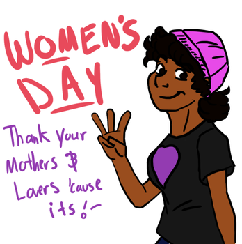 Women's Day 2017 by StoryMasterPurple