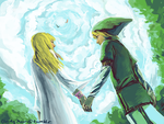 skyward sword by MewOfTheClouds