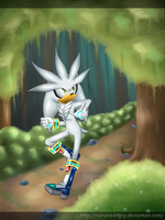 Silver The Hedgehog by Nanana-Killjoy