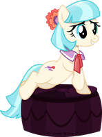 Coco Pommel looking cute by Vector-Brony