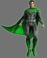 Green Lantern Superman by Lord-Lycan