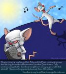 Pinky and the Brain by Chocolatier-Mihael